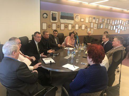Korruptsioonivastase erikomisjoni väljasõiduistung Narva