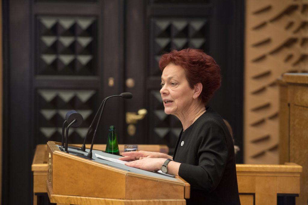 Krista Aru. Photo: Riigikogu Kantselei / Erik Peinar