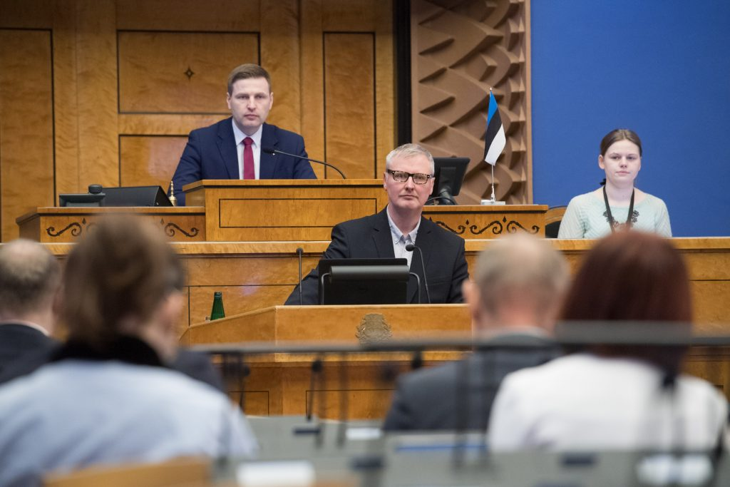 Martin Ehala. Photo: Riigikogu Kantselei / Erik Peinar