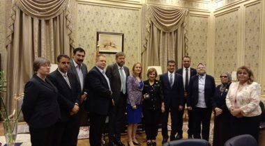 Kohtumine Egiptuse parlamendi väliskomisjoniga