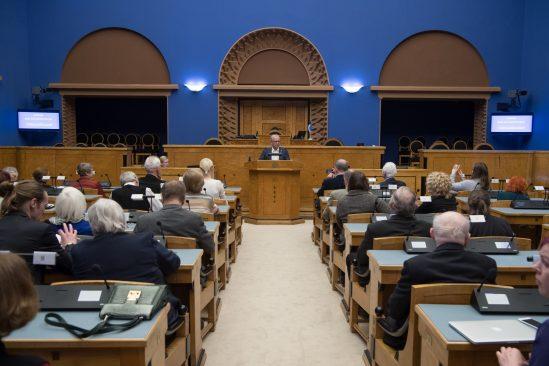 """Arutelupäev """"Riik kui kunstiteos"""", millega tähistatakse ajaloolise aprillipleenumi 30. aastapäeva"""