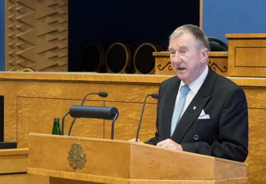 Enn Meri. Foto: Erik Peinar / Riigikogu Kantselei