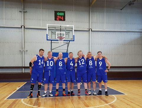 Riigikogu korvpallimeeskond 2018