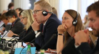 Marko Mihkelson NATO PA kevadistungil Varssavis
