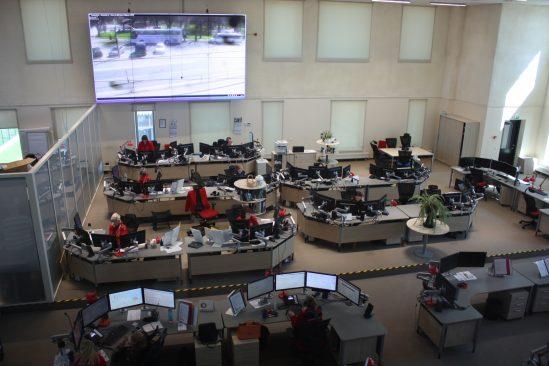 Julgeolekuasutuste järelevalve erikomisjoni väljasõiduistung Häirekeskuses. Foto: Riigikogu Kantselei