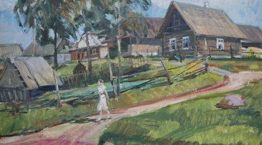 """Seto-vene kunstnikule Viktor Leškinile pühendatud näitus """"Igavesed on vaid muutused"""""""