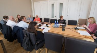 Sotsiaalkomisjoni istung. Foto: Erik Peinar / Riigikogu Kantselei