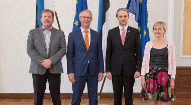 Kohtumine Moldova kaitseministriga