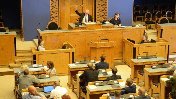 Riigikogu kevadistungjärgu viimane istung