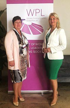 Liisa Oviir ja Terje Trei Women Political Leaders tippkohtumisel Vilniuses