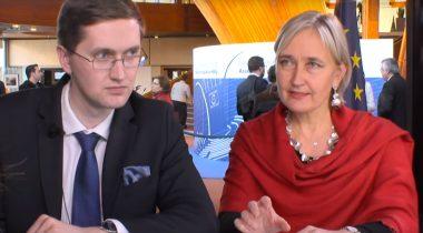 Marianne Mikko ja Jaak Madison. Foto: ekraanitõmmis videost / Youtube