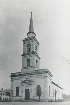 Tartu Maarja kirik enne sõda