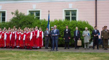 Eiki Nestor Eesti lipu päeval
