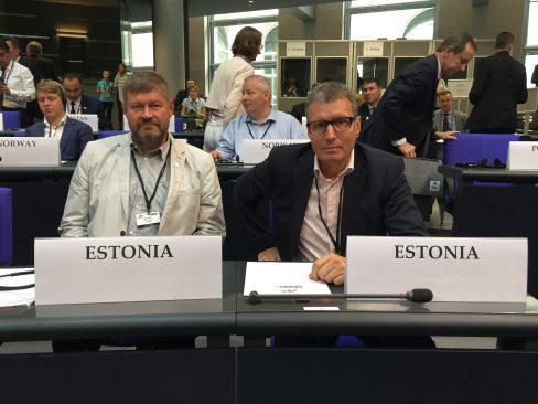 Nutt ja Vitsut Euroopa Julgeoleku- ja Koostööorganisatsiooni (OSCE) Parlamentaarse Assamblee istungjärgul Berliinis