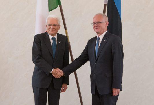 Nestor ja Mattarella tunnustasid Eesti ja Itaalia häid suhteid