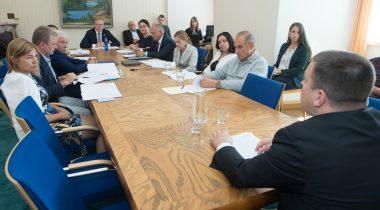 Väliskomisjoni istung koos riigikaitsekomisjoni liikmetega. Foto: Erik Peinar / Riigikogu Kantselei