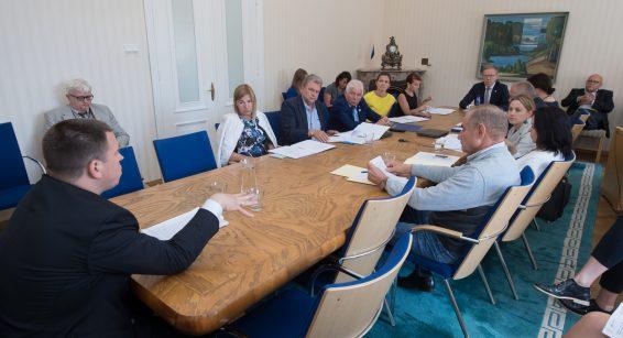 Väliskomisjoni istung. Foto: Erik Peinar / Riigikogu Kantselei