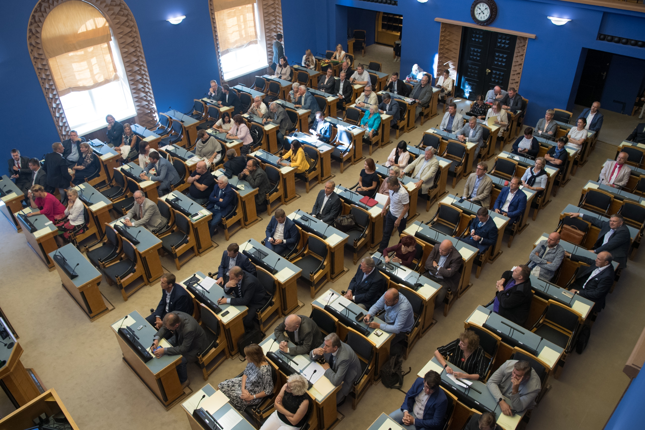 Riigikogu XIII koosseisu viimasel korralisel istungil võeti vastu kolm seadust