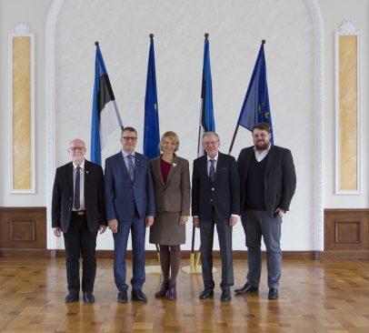Eesti, Läti, Leedu ja Poola EL asjade komisjonide kohtumine Tallinnas