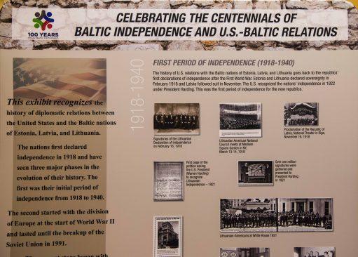Näitus USA-Balti suhetest