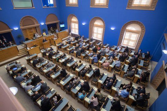 Plenary sitting of the Riigikogu