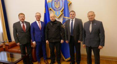 Julgeolekuküsimustest räägiti Ukraina presidendi administratsiooni rahvusliku julgeoleku- ja kaitsenõukogu sekretäri Oleksandr Turchynoviga