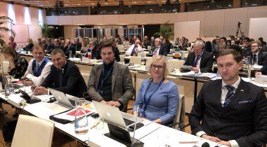 Euroopa Liidu asjade komisjoni liikmed Viinis COSACil