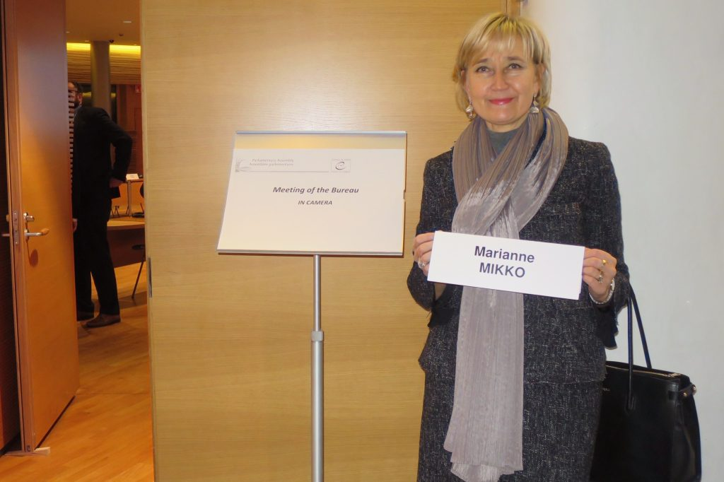 Marianne Mikko. Foto: Eva Verbiaš / Riigikogu Kantselei