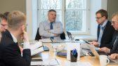 Marko Pomerants põhiseaduskomisjoni istungil 8. jaanuar 2018. Foto: Erik Peinar / Riigikogu Kantselei