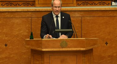 Rahandusminister Toomas Tõniste