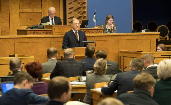 Riigikogu võttis vastu avalduse Ukraina toetuseks seoses Kertši väina agressiooniga