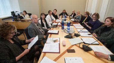 Sotsiaalkomisjoni istung 23.10.2018. Foto: Erik Peinar / Riigikogu Kantselei