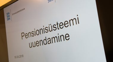 Pensionireform, pensionisüsteem