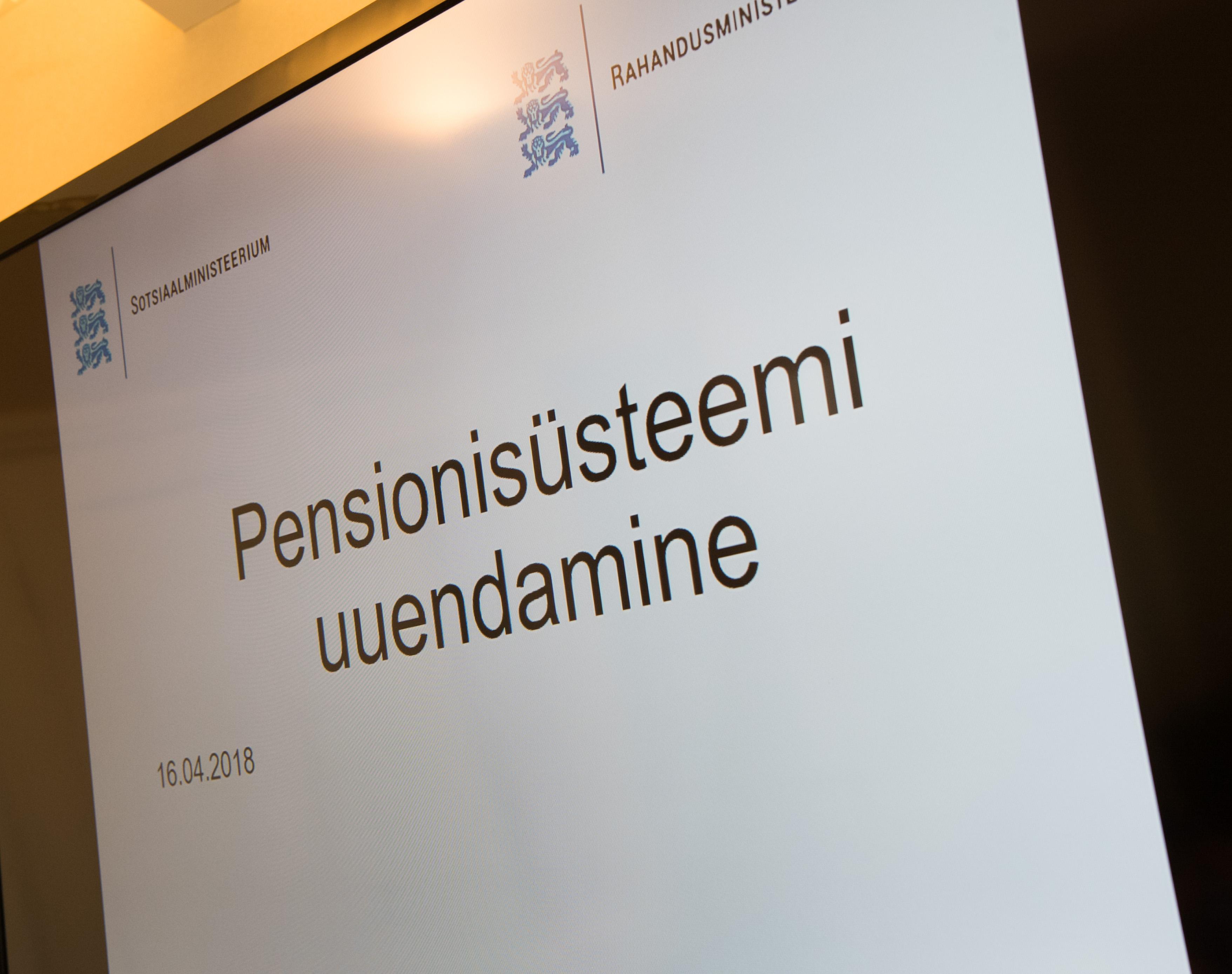 Rahanduskomisjon arutab koos huvigruppidega pensionireformiga seotud asjaolusid
