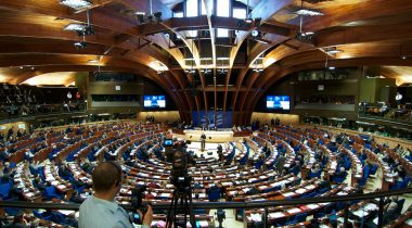 Estonian delegation to PACE is attending the Session of the Assembly. Photo: PACE