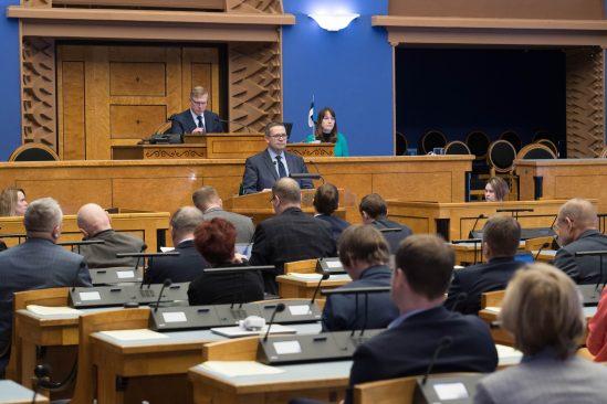 Riigikogu nimetas Villu Kõve Riigikohtu esimeheks