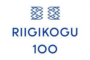 Riigikogu100 logo