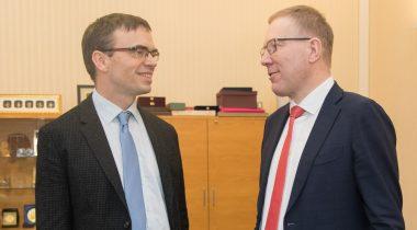 Sven Mikser ja Marko Mihkelson