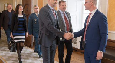 Riigikaitsekomisjoni liikmed kohtusid täna Ukraina raada julgeoleku- ja kaitsekomisjoni delegatsiooniga