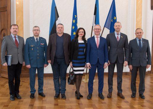 Riigikaitsekomisjon: Eesti toetab Ukraina püüdlusi liituda NATO ja Euroopa Liiduga. Foto: Erik Peinar