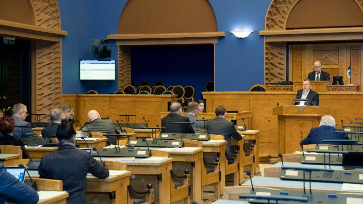 Riigikogu arutas maksusüsteemi tulevikku. Foto: Erik Peinar