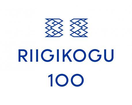 Riigikogu 100 logo
