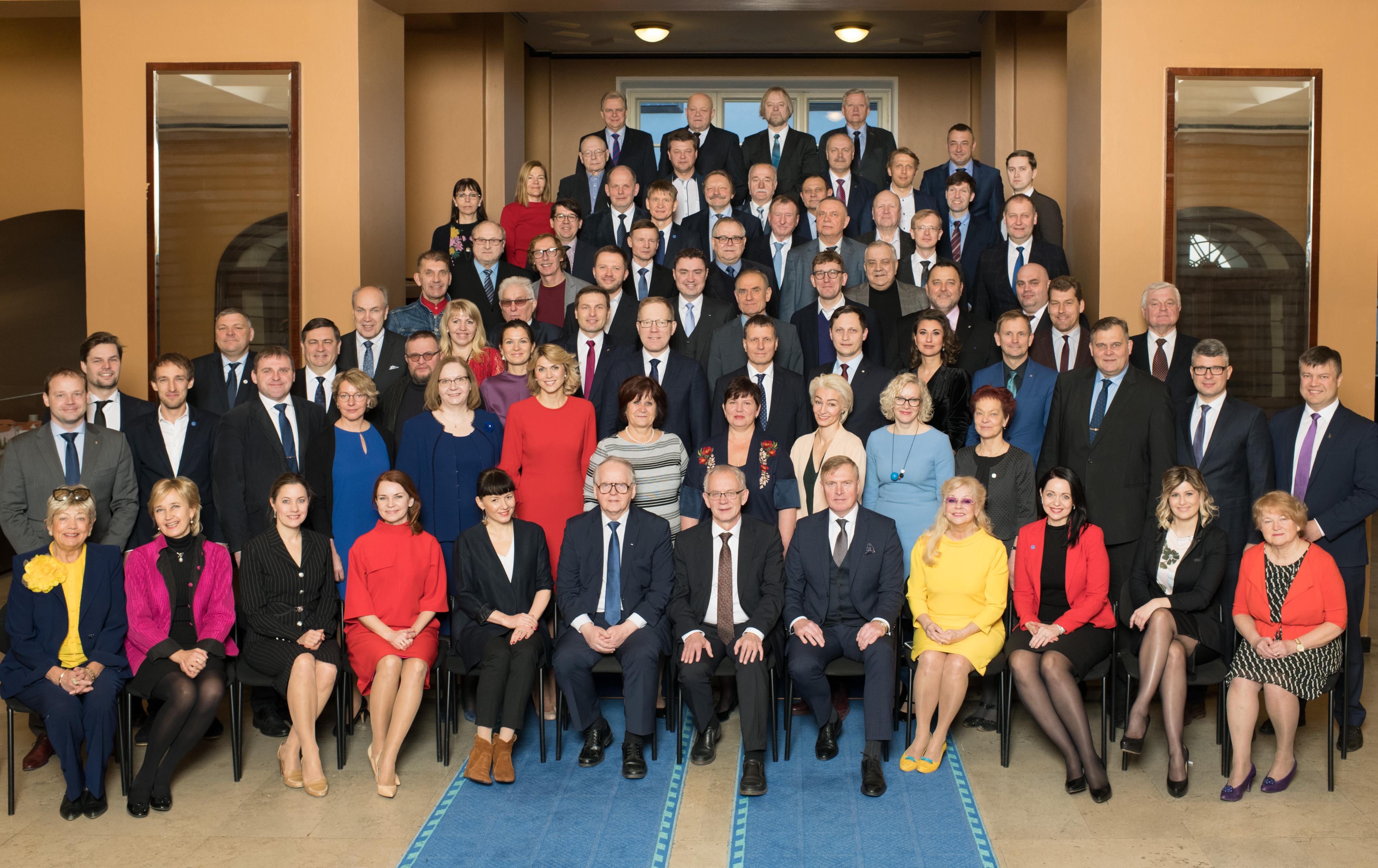 XIII Riigikogu 21. veebruaril 2019.