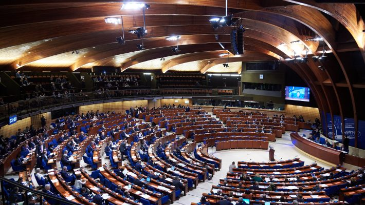 PACE Spring Session discusses budgetary crisis. Photo: Council of Europe/Ellen Wuibaux