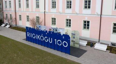 "Rändnäitus ""Riigikogu 100"". Foto: Erik Peinar"