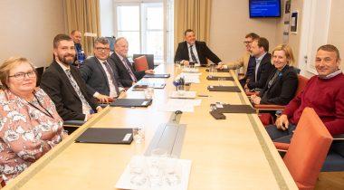Majanduskomisjoni esimene istung. Foto: Erik Peinar