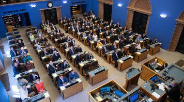 Riigikogu plenary sitting