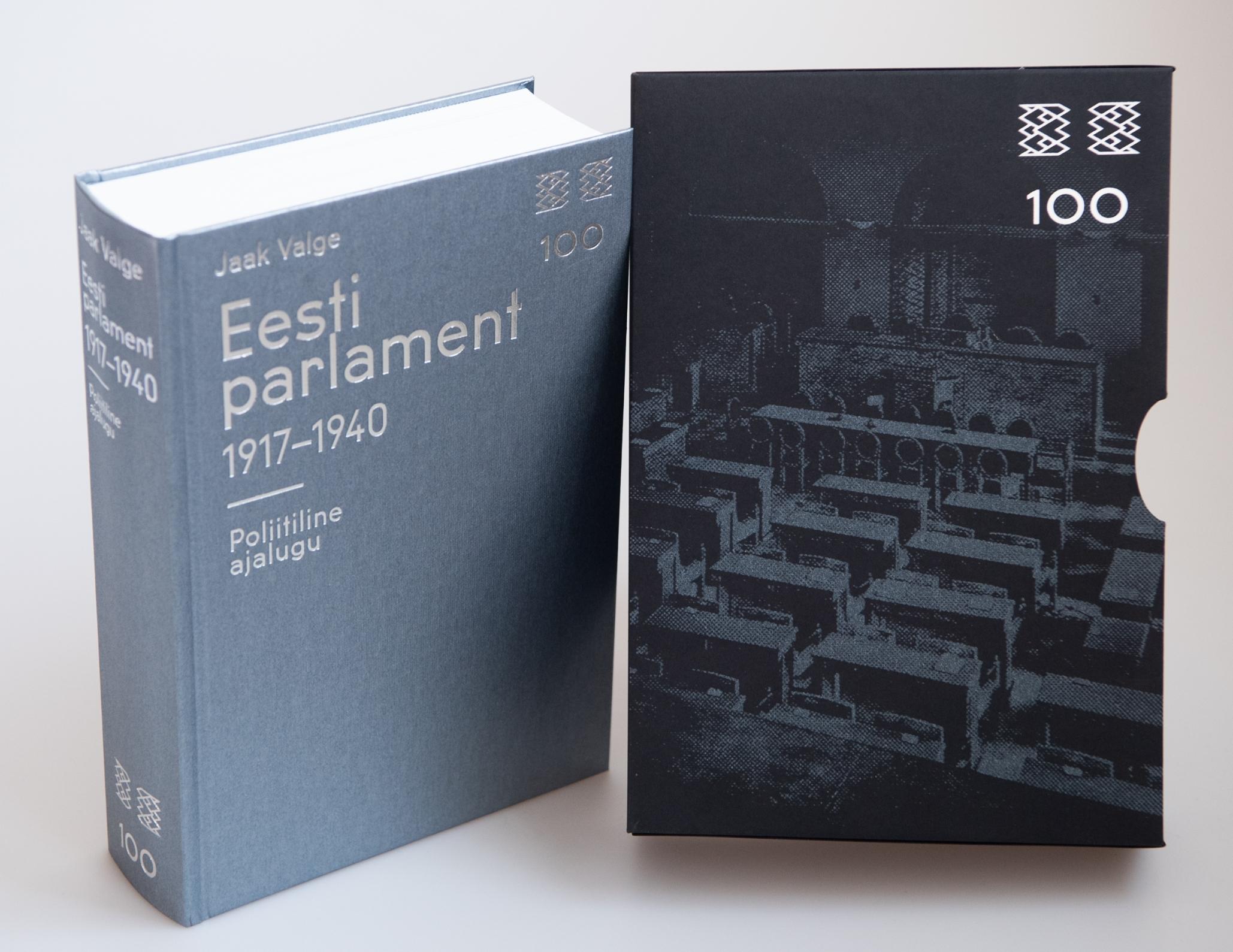 Riigikogu ja Rahvusraamatukogu esitlevad parlamendi juubeliks valminud ajalooraamatut