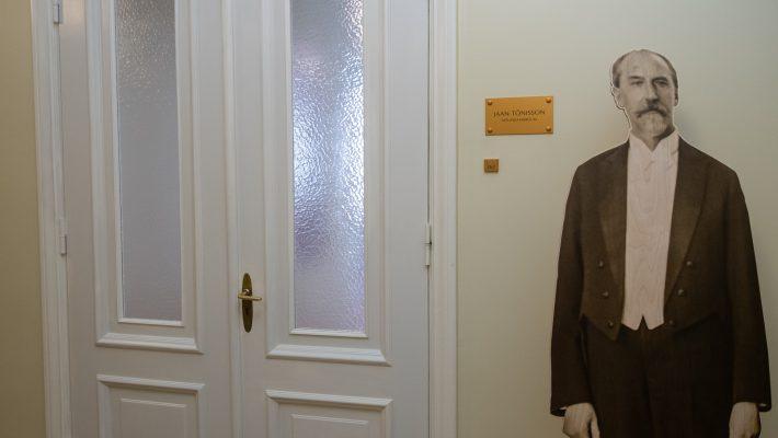 Jaan Tõnissoni nimeline nõupidamisruum Riigikogus