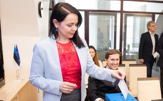 Anneli Ott Euroopa Liidu asjade komisjoni esimehe valimistel